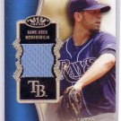 James Shields 2012 Topps Tier One Top Shelf Relics #TSR-JS Rays, Royals, Padres #/399