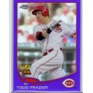 Todd Frazier 2013 Topps Chrome Purple Refractor #123 Reds