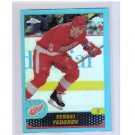 Sergei Fedorov 2001-02 Topps Chrome Refractors #53 Red Wings