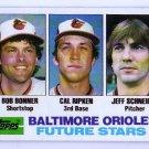 Cal Ripken RC 1982 Topps #21  Orioles HOF