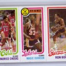 Magic Johnson RC 1980-81 Topps #66 Maurice Cheeks Ron Boone Lakers