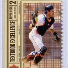 Mike Piazza 1999 Upper Deck Textbook Excellence Double #T15 Dodgers Mets #/2000