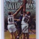 Tim Duncan RC 1997-98 Topps Finest #306 Spurs