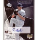Phil Hughes RC Exquisite Rookie Signatures #186 Yankees #/150