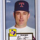 Nolan Ryan 2010 Topps Vintage Legends Collection #VLC-21 Rangers, Mets, Angels, Astros HOF