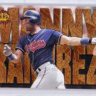 Manny Ramirez 1997 Pacific Crown Collection Latinos of the Major Leagues #LM-9 Indians Red Sox
