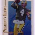 Brett Favre 1996 Collector's Edge President's Reserve #70 Packers, Vikings