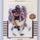 Marshall Faulk 2002 Fleer Focus Jersey Edition Materialistic Home #12M Colts Rams HOF