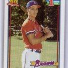 Chipper Jones RC 1991 Topps #333 Braves