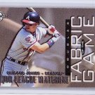 Chipper Jones 1997 Donruss Limited Fabric of the Game #6 Braves #/1000