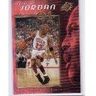 Michael Jordan 1999-00 SPx Decade of Jordan #J2 Wizards Bulls HOF
