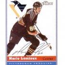 Mario Lemieux 2000-01 Topps Heritage #73 Penguins HOF