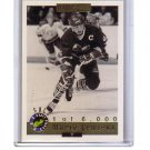 Mario Lemieux 1992 Classic Draft Picks Flashback Gold Foil #66 Penguins HOF #/6000