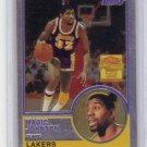 Magic Johnson 2000-01 Topps Chrome Magic Johnson Commemorative Insert #MJ1  Lakers