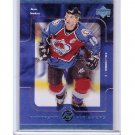 Joe Sakic 1998-99 Upper Deck Fantastic Finishers #FF6 Avalanche