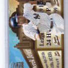 Derek Jeter 2000 Pacific Crown Royale Feature Attractions #19  Yankees