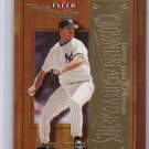Roger Clemens 2001 Fleer Triple Crown Crowning Achievements #7CA Red Sox, Yankees Blue Jays