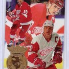 Steve Yzerman 1994-95 Ultra Scoring Kings #7 of 7 Red Wings HOF