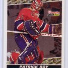 Patrick Roy 1993-94 Topps Premier Black Gold #22 Canadiens Avalanche