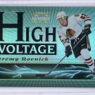 Jeremy Roenick 1996-97 Pinnacle Summit High Voltage #10  Blackhawks, Flyers, Kings #/1500