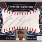 Jose Reyes 2004 Upper Deck Sweet Spot Signatures #SS-JR Mets  Blue Jays