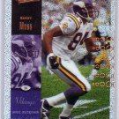 Randy Moss 2000 Upper Deck Ultimate Victory SP Parallel #50 Vikings Raiders Patriots