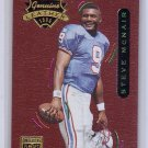 Steve McNair  1996 Playoff Contenders Leather #44 Titans, Oilers