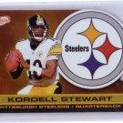 Kordell Stewart 2001 Pacific Prism Atomic Gold Die-cut  #115 Steelers #/116