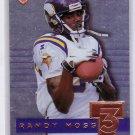 Randy Moss 1999 Collector's Edge Supreme #T3-25 Vikings Raiders Patriots