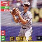 Cal Ripken 1995 Donruss Top of the Order Orioles HOF