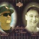 Cal Ripken 2000 Upper Deck Legends Reflections in Time #R8 Lou Gehrig Orioles HOF
