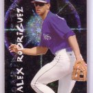 Alex Rodriguez 1997 Fleer Soaring Stars Glowing #11 Yankees Mariners