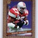 Eddie George RC 1996 Fleer Ultra Ultra Rookies #10 Titans, Oilers Rookie Card