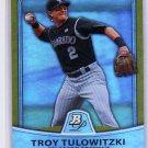 Troy Tulowitzki 2010 Bowman Platinum Gold Foil #26 Rockies #/589