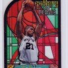 Tim Duncan 1999-00 Topps Gallery Gallery of Heroes #GH5 Spurs