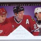 1994-95 Donruss Dominators #5 Wayne Gretzky Federov, Roenick