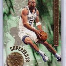 Jason Kidd 1996-97 NBA Hoops Superfeats #2  Mavericks, Suns, Knicks