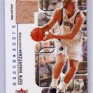 Dirk Nowitzki 2001-02 Fleer Maximum Floor Score Court #NN Mavericks