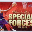 Ray Allen 1999-00 Fleer Force Special Forces Forcefield #6SF Sonics, Celtics, Heat