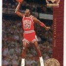 Michael Jordan 1998-99 UD Century Legends Michael Jordan's Most Memorable Shots #MJ6 Bulls HOF