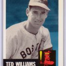 Ted Williams 1991 Topps Archives The Ultimate 1953 Set #319 Red Sox HOF