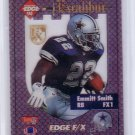 Emmitt Smith 1994 Collector's Edge Excalibur FX White Back #1 Cowboys HOF