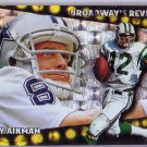 Troy Aikman 1996 Topps Broadway's Review #BR6 Cowboys HOF