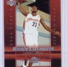 LeBron James RC 2003-04 Upper Deck Rookie Exclusives #1 Miami Heat, Cavs