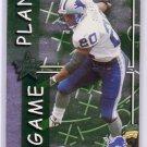 Barry Sanders 1999 Leaf Rookies & Stars Game Plan #GP-22 Lions HOF #/2500