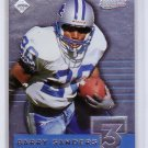Barry Sanders 1999 Collector's Edge Supreme T3 #T3-14 Lions HOF