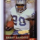Barry Sanders 1999 Collector's Edge Fury Gold Ingot #116 Lions HOF