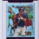 John Elway 2005 Topps Chrome Refractor #157 Broncos