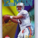 Dan Marino 1995 Collector's Edge 12th Man #1 Dolphins HOF