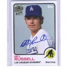 Bill Russell 2014 Topps Archives Fan Favorites Autographs #FFA-BR Dodgers